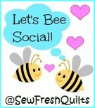 Let's Bee Social @ Sew Fresh Quilts | Berry Barn Designs blog