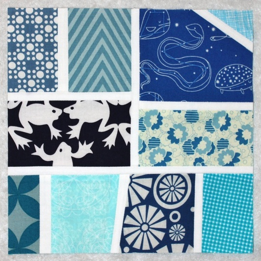 Stash Bee March block | Berry Barn Designs