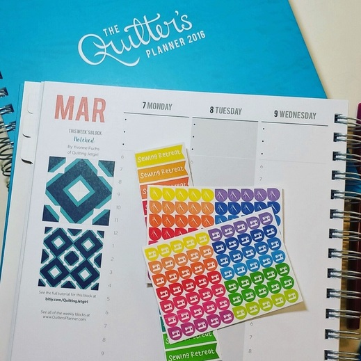 Quilter's Planner Cover {Berry Barn Designs}