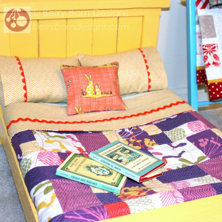 Summer Sun Rosa quilt | Berry Barn Designs blog