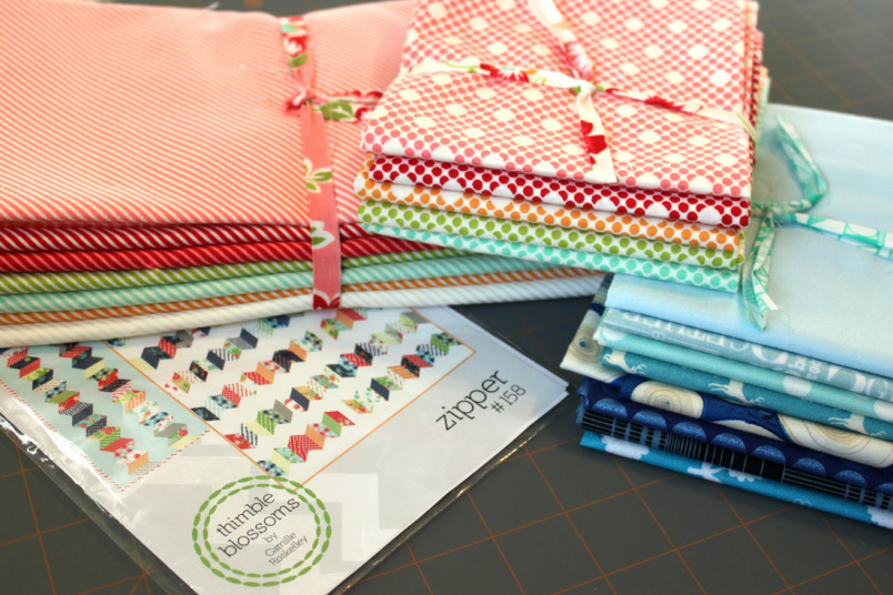 fabric selection from Westwood Acres | Berry Barn Designs blog
