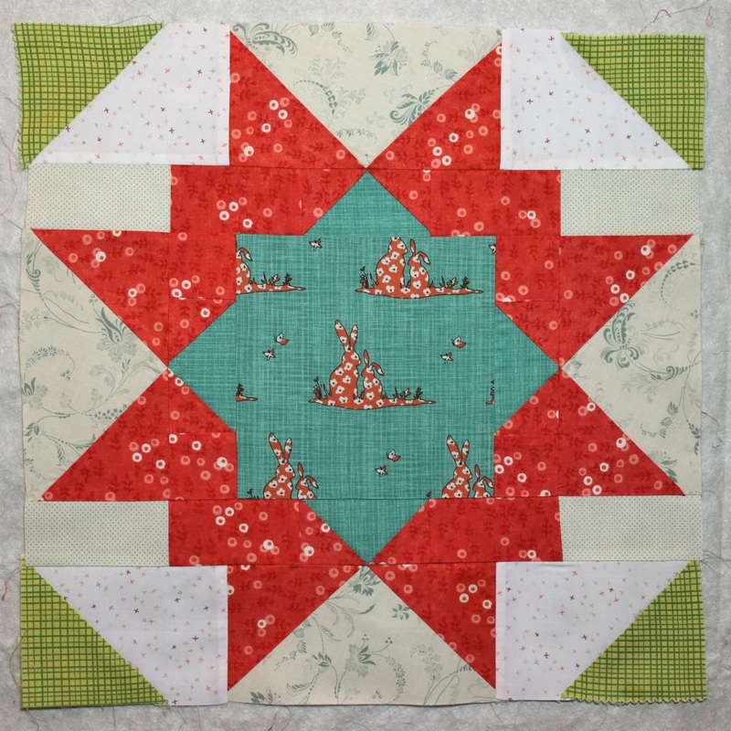 Stash Bee April block | Berry Barn Designs
