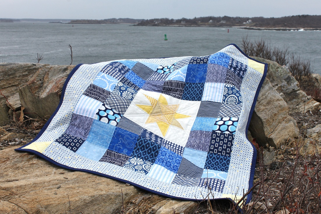 Baby Blue quilt {Berry Barn Designs}