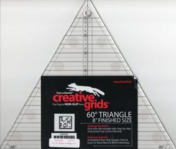 Creative Grids 60° Triangle ruler | Berry Barn Designs