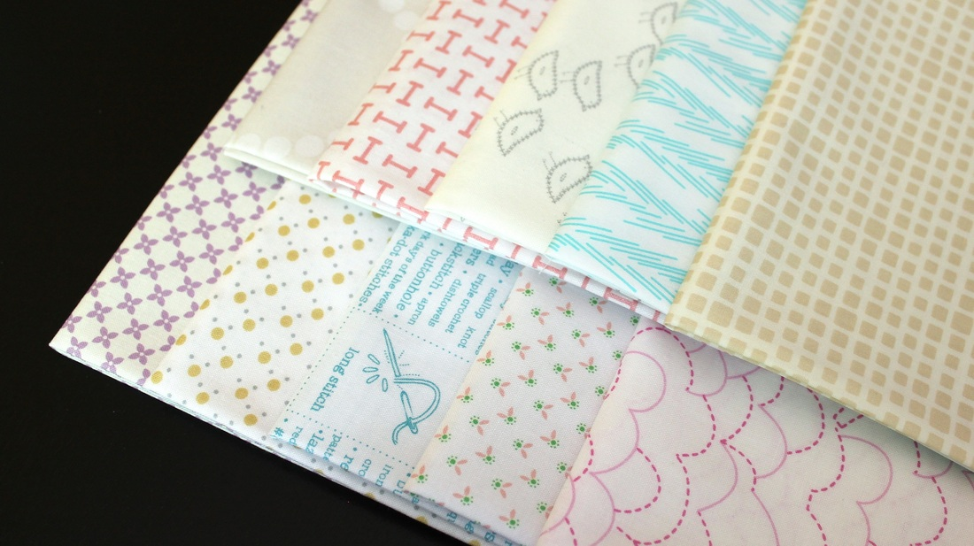 Super Awesome Low Volume Blogger Bundle - available at Pink Castle Fabrics