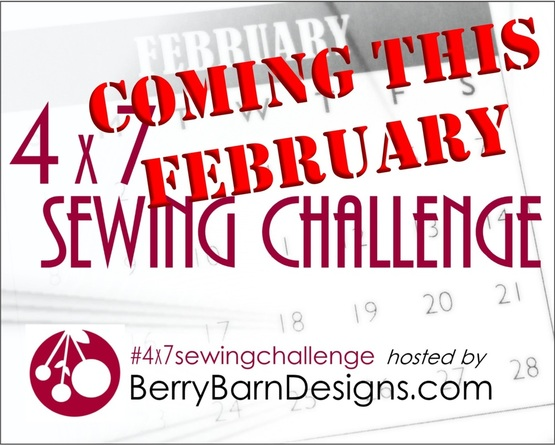4x7 Sewing Challenge {Berry Barn Designs}