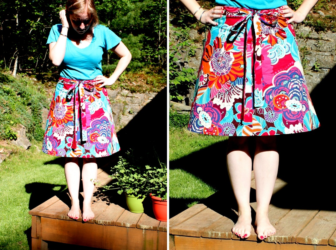 Miette Skirt | Berry Barn Designs blog