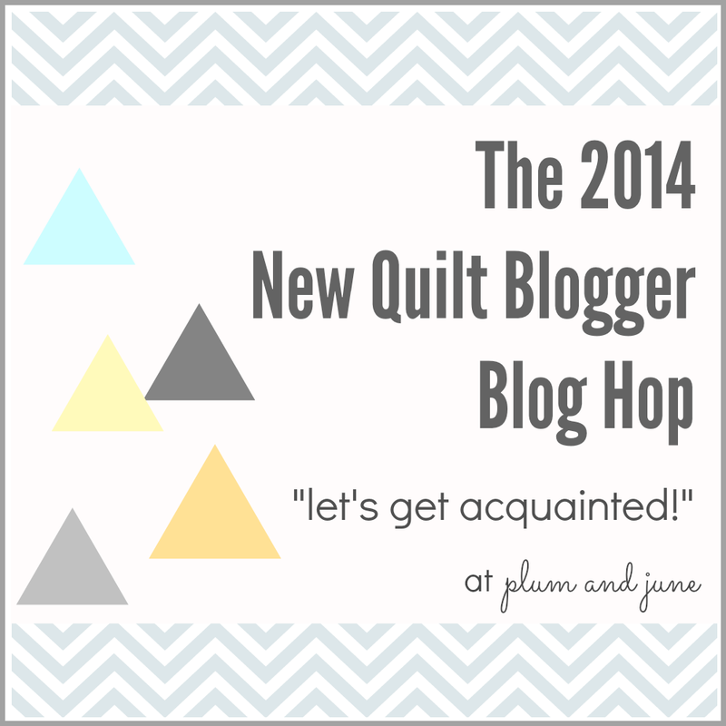 2014 New Quilt Blogger Blog Hop