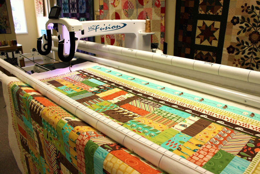 longarm FMQ | Berry Barn Designs blog