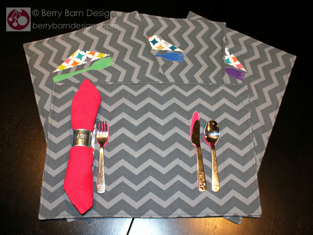 Toddler Training Placemats | Berry Barn Designs blog