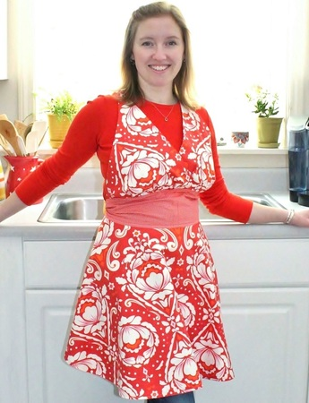 The Cupcake Apron by Jamie Christina | Berry Barn Designs