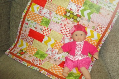 Junie Baby quilt | Berry Barn Designs blog