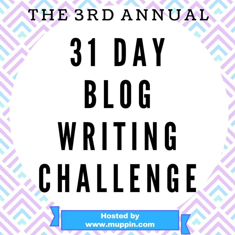 31 Day Blog Writing Challenge image
