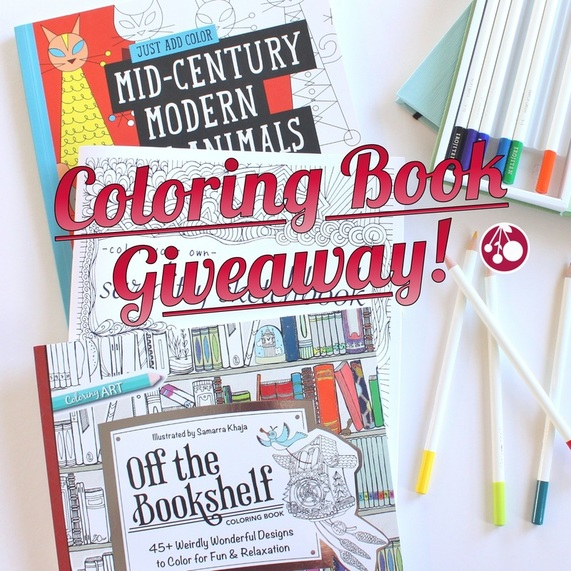 Coloring Book giveaway {Sarah Nunes @BerryBarnDesigns}