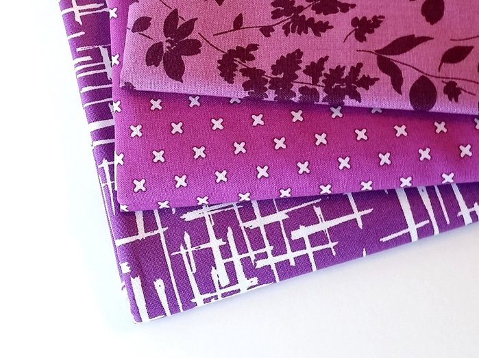 Plum Sunday Stash {Sarah Nunes of Berry Barn Designs}