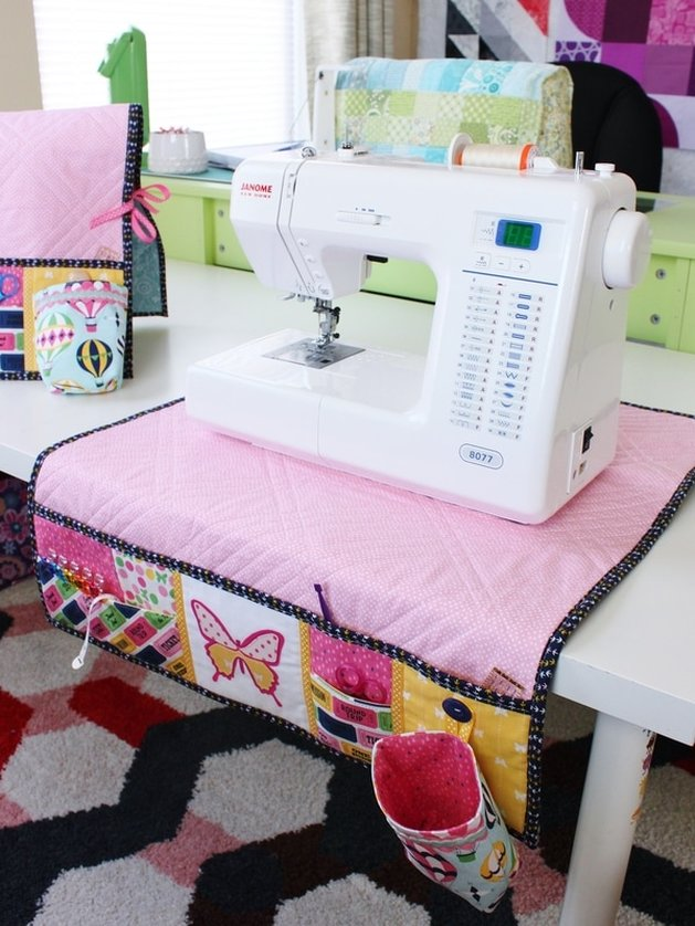 Undercover Maker Mat - pattern by Lillyella.com {Sarah Nunes of Berry Barn Designs}