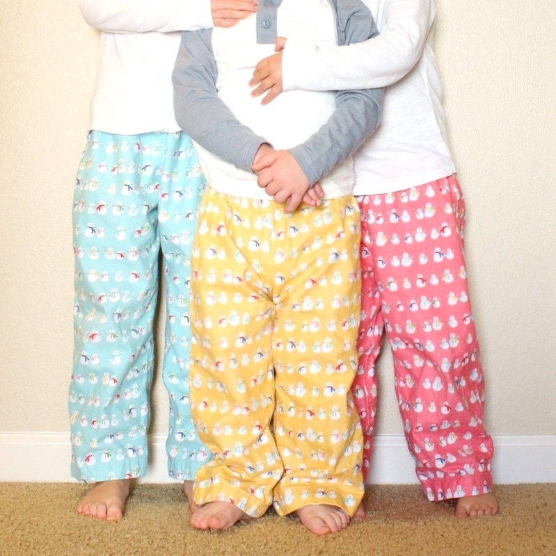 Elf pj pants {Sarah @BerryBarnDesigns}