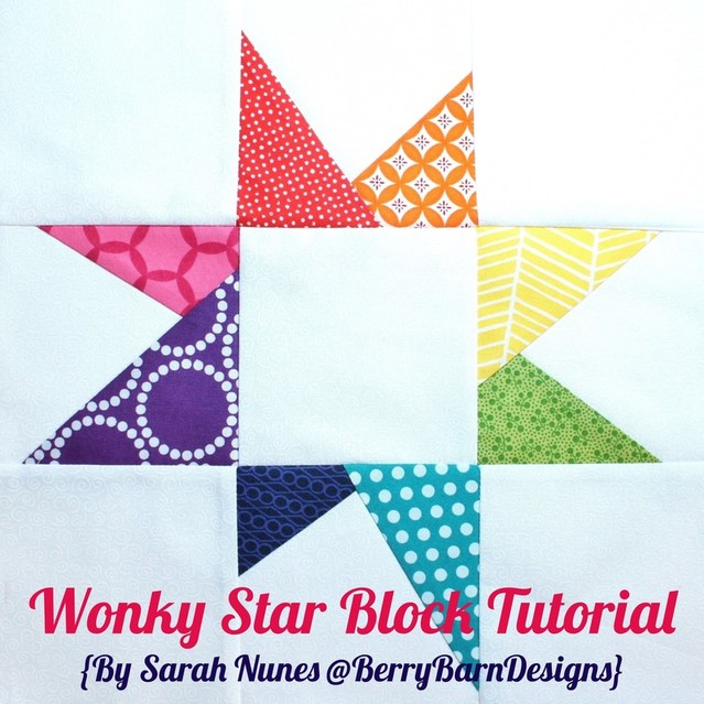 Wonky Star Tutorial {Sarah @Berry Barn Designs}